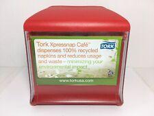 Tork Xpressnap Cafe Napkin Dispenser Red N10 Restaurant Patio