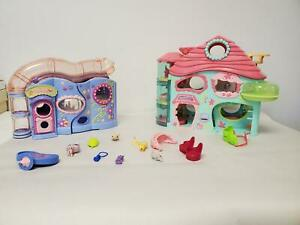LOT of Girls Toys (My Little Pony, Littlest Pet Shop House Set with Accessories)