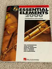 Hal Leonard Essential Elements Trombone Book 2, includes sealed Cd
