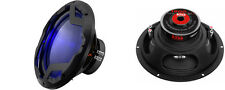 """NEW (2) 12"""" DVC 1600w Subwoofer Bass.Replacement.Speakers.Blue Led lights.PAIR"""