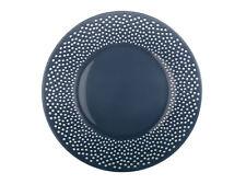 Plato de comida azul marino BULLA 28cm LUMINARC