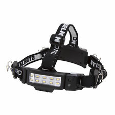 STEELMAN PRO 78834 LED Rechargeable 250-Lumen Slim Profile Jobsite Headlamp