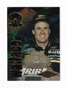 1996 Viper BLACK MAMBA 1ST STRIKE NUMBERED PARALLEL #41 Rusty Wallace #018/499!