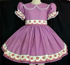 """Annemarie-Adult Sissy Baby Girl Dress  """"Cabbage Roses"""" Ready to Ship"""