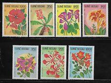 Guinea Bissau 517-23 Flowers Mint NH