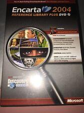 MS Encarta Reference Library 2004 98/2000/ME/XP *