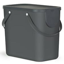 Rotho 1024908853 Abfallbehälter 25l Anthrazit ()