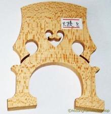 Nuevo tamaño de 3/4 de arce puente Para Cello De Madera 4 Cuerdas Calidad Superior de janika