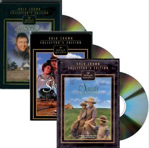 Sarah Plain & Tall, Skylark, Winter's End Hallmark Collector's Edition (3 DVDs)