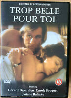 Trop Belle Pour Toi DVD 1989 Too Beautiful For You Poción Erotica Arrow Vídeo