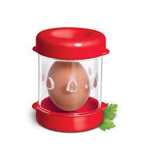 The NEGG® Boiled Egg Peeler - Red