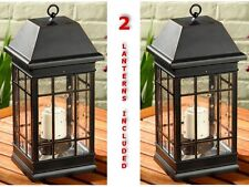 New listing Solar Candle Lantern Hanging Lamp Led Table Light Home Garden Porch Battery Lite