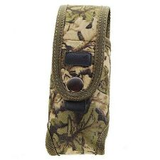 Airsoft External Battery/ Flashlight Pouch Bag Pack Camouflage