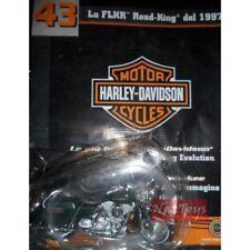 Moto Harley Davidson FLHR Road King 1997 +fasc.43 MODELLINO DIE CAST 1:18 MODEL