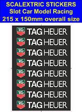 Scalextric Slot Car Stickers Modelo Tag Heuer Carrera con el logotipo de LEGO Calcomanía Adhesivo Vinilo