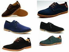Unbranded Suede Lace-up Casual Shoes for Men