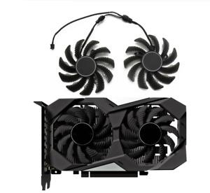 Fan For Gigabyte GTX1650 GTX 1650 OC CN 4G HQ 2PCS/Lot PLD08010S12H 75mm Cooler