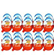 24 x Kinder JOY Surprise Eggs Ferrero Chocolat Gift Toys for Boys FREE SHIP USA