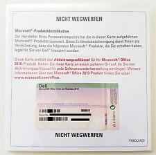 Office 2010 Home and Business 32/64-bit PKC OEM alemán versión completa Multilingual