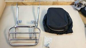 2005 Triumph T100 865cc Renntec Luggage Carrier/Top Box Rack & bag
