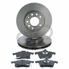 VAUXHALL ZAFIRA MK2 1.7 CDTi ECOFLEX 09-14 FRONT 2 BRAKE DISCS /& PADS CHECK