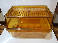 Small Rodent Cage and Top, high-temp Polysulphone w/ water delivery grommet