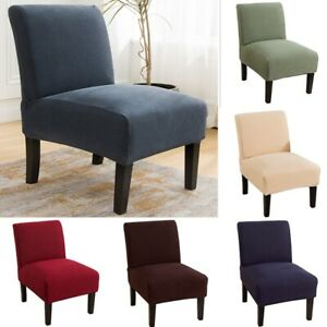 Slipper Chair Slipcovers Spandex Stretch Coffee Tea Chair Slip Covers Protector