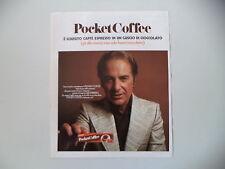 advertising Pubblicità 1971 FERRERO POCKET COFFEE