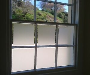 Privacy Frosted Window Film With Air Release Technology Easy Installation