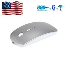 Wireless Bluetooth dual-mode mouse rechargeable 2.4GHz Silent with Notebook PC
