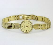 Ladies vintage Geneve watch all 14K yellow gold link bracelet 23gm