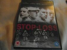 STOP-LOSS - RYAN PHILLIPPE - ABBIE CORNISH - CHANNING TATUM - DVD