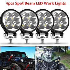 4x LED Work Light SPOT Lights For Truck Off Road Tractor ATV 4WD Round 48W Pods