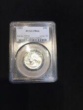 1952 PCGS PR 66 Superbird FS-901 Washington Silver Quarter, Superman S on Chest