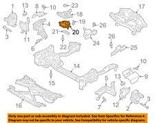 AUDI OEM 13-15 A8 Quattro-Transmission Trans Mount 4M0399153L
