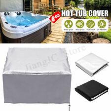 Universal Spa Hot Tub Dust Cover Cap Waterproof Jacuzzi Hotspring UV Proof Guard