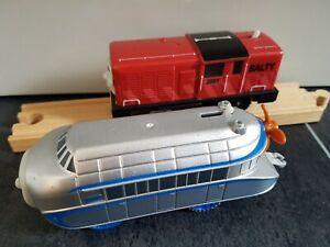 Thomas & Friends TrackMaster SALTY & HUGO Motorised Battery Powered Trains