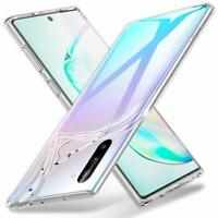 Case For Samsung Galaxy Note 10/10Pro Clear Silicone Soft Gel Back TPU Cover