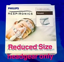 NEW Headgear for Respironics Amara SILICONE & GEL Mask REDUCED SIZE 1090296