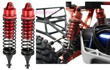 Racers Edge Traxxas Slash 2/4WD Aluminum Rear Shock (pr) Red 1850R