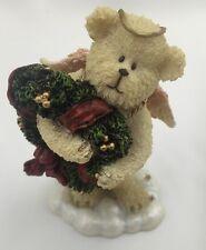 Boyds Bear Merrie Lil' Wings Angel Christmas Bear Figurine Holiday 24176 NEW