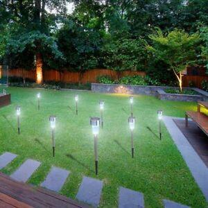 Solar Lights Outdoor Garden Led Light Landscape / Pathway Lights-20 Pack