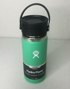 Hydro Flask Stainless Steel Coffee Travel Mug Spearmint Green 16 oz
