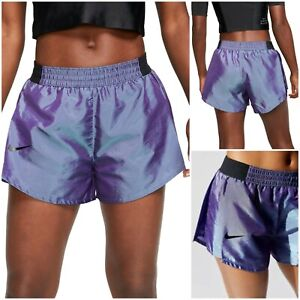"""NWT $55 Nike Tiempo Lux size L Running Shorts 3"""" BV3290 556 purple"""