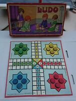 Vintage Ludo Board Game - Children's Box Game (1922).