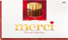 Storck MERCI Finest Gourmet Selection Assorted Chocolate Sticks 400g 14oz