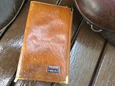 RARE Classic Genuine Leather Wallet TRIUMPH BONNEVILLE Motor Bike Heritage Piece