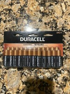 NEW 24 Pack Duracell Coppertop AA Batteries, Sealed in Original Packaging.