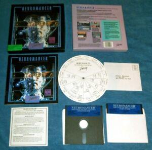 "NEUROMANCER - US Release of 1988 - Big Box - 5.25"" Disks - Complete"