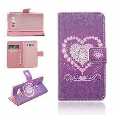 Leather Flip Stand Wallet Protective Cover Case Skin For Samsung Galaxy A3 2015